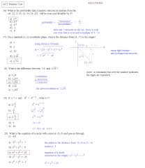 Math Plane - ACT Practice Test 1... ACT practice test 1d solutions ...