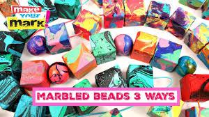 <b>Make</b> & Marble <b>Wood Beads</b> 3 Ways! - YouTube