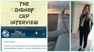 interview advice ordm o ordm disney programs crp dcp dicp interview advice ordmoordm disney programs crp dcp dicp