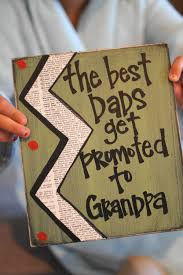 best dad s get promoted to grandpa card dads promotion and mom such a cute way to tell your dad he s getting a promotion could