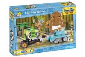 Пластиковый <b>конструктор COBI</b> «<b>Tiki</b> Tank Battle» с фигурками ...