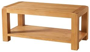 devonshire avon oak coffee table with shelf baumhaus aston oak coffee table
