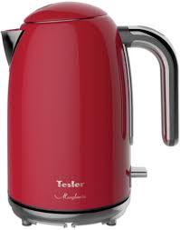 Купить <b>чайник электрический Tesler KT-1755</b> Red в интернет ...