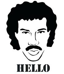 <b>Lionel Richie</b> Hello Stencil, A4/A5/A6 - <b>180</b> micron - reusable   eBay