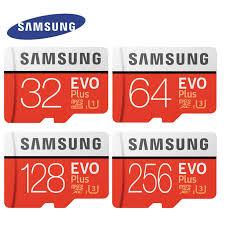 Original <b>SAMSUNG EVO Plus Memory</b> Card 64GB 128GB 256GB ...