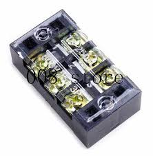 1Pcs <b>Dual</b> Row Screw <b>Terminal Block</b> Strip 600V 15A <b>TB</b>-1503 ...