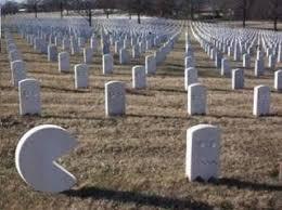 Resultado de imagem para cemitério cheio humor