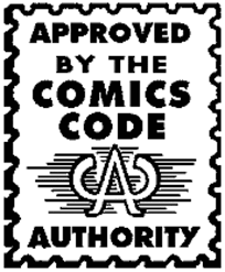 Image result for comics code authority sticker
