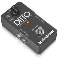 <b>tc electronic</b> ditto stereo looper <b>педаль эффектов</b> стерео лупер для ...