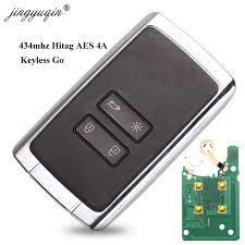 <b>jingyuqin</b> 4BTN <b>Smart Remote</b> Key 434mhz Hitag AES 4A pcf7953M ...