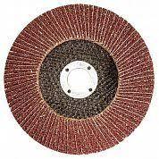 <b>Круг лепестковый</b> торцевой 115мм Р60 <b>Зубр</b> 36595-115-60 ...