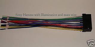 sony wire harness illumination mute xplod cdx mp70 sni • 7 99 sony wire harness illumination mute xplod cdx mp70 sni