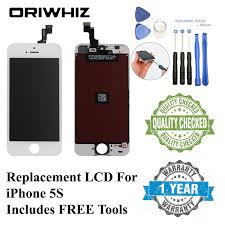 ORIWHIZ <b>Grade AAA</b> Screen <b>LCD for</b> iPhone 4 4S 6 5 5S 5C SE ...