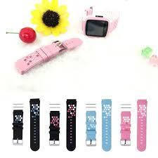 Children's <b>Smart</b> Wristband <b>Replacement Silicone</b> Wrist Strap For ...