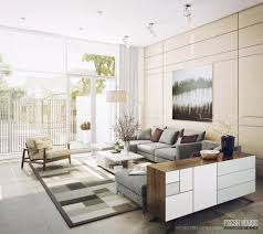 Modern Area Rugs For Living Room Living Room Brown Chairs Gray Recliners Gray Sofa White Shelves