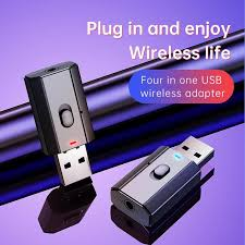 <b>5.0 Bluetooth Adapter</b> USB <b>Wireless Bluetooth</b> Transmitter <b>Receiver</b> ...