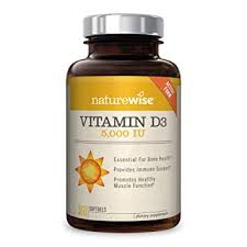 Amazon.com: NatureWise <b>Vitamin D3</b> 5,000 IU for Healthy Muscle ...
