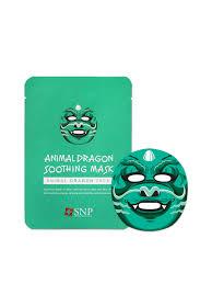 Buy <b>SNP Animal Dragon</b> Soothing Mask - Mask And Peel for Unisex ...
