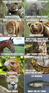 Funny animals meme via Relatably.com