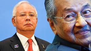 Image result for Najib and Mahathir