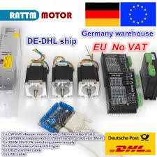 <b>DE free VAT</b> 3 axis CNC Router controller kit 3pcs NEMA23 270oz ...