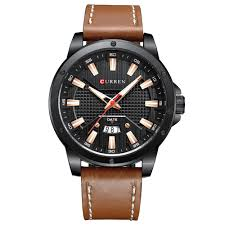 CURREN 8376 Brown Stainless Steel Watches Sale, Price ...