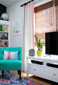 living room pops color