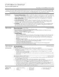 Manufacturing Engineer Resume Sample Sample Industrial Engineer Resume