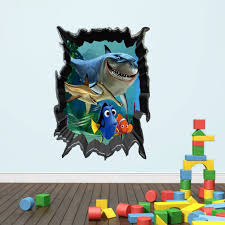 online buy whole shark paper from shark paper 50 70cm new nemo shark children s bedroom wall paper whole trade waterproof can be removed