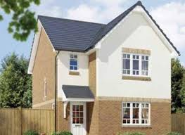 Thumbnail   bed detached house for sale in  quot The Elgin quot  at Bredisholm Road  Zoopla