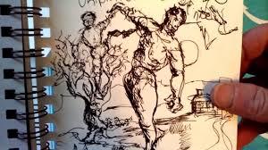 Best spiral <b>sketchbook</b> for pen & ink, brush 🖌️ - YouTube