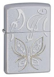 <b>Зажигалка</b> Golden <b>Butterfly ZIPPO</b> 24339 купить оптом в Москве