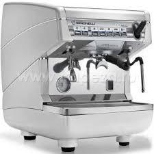 Кофемашина-автомат, 1 группа (выс.), бойлер 5л, белый жемчуг ...