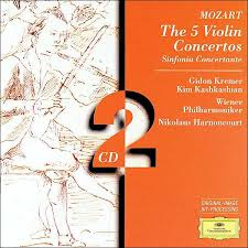 <b>Mozart</b>: The 5 Violin Concertos by <b>Gidon Kremer</b> | 28945304328 ...