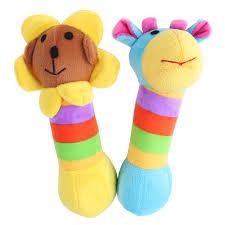 <b>1 pcs</b> 20cm <b>Kid Baby Toys</b> Rattle Tinkle Hand Bell Multifunctional ...