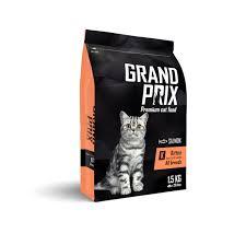 <b>GRAND PRIX</b> Kitten <b>сухой корм</b> для котят с лососем - Zoo ...