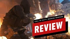 Call of Duty: Modern Warfare Final Review - YouTube