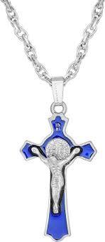 Buy morir <b>316L</b> Stainless Steel 3D Jesus Christ Crucifix Cross Bible ...