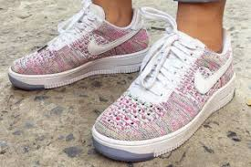 if your thirst for multi color flyknit sneakers just cant be quenched then today brings you some good news the nike air force 1 low flyknit will be air force 1 flyknit