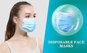 Asofcof 50PCS Disposable Face 3 Layer Anti-Dust ... - Amazon.com