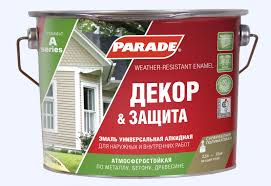 <b>Эмаль Parade А1</b> Декор & Защита база, белый, 2,5 л — купить в ...