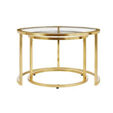 Round - <b>Coffee Tables</b> - Accent Tables - The Home Depot