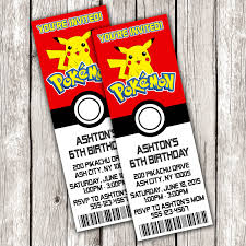 pokemon online birthday invitations birthday card ideas pokemon black and white birthday invitations