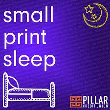Small Print Sleep