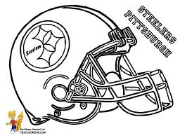 Small Picture 8 best NFL for kids images on Pinterest Coloring pages Free
