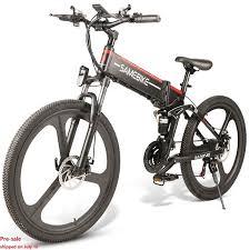 <b>Samebike LO26 Moped Electric</b> Bike Smart 350W 30km Per Hour ...