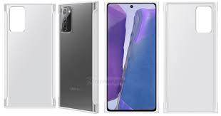 [Exclusive] <b>Samsung</b> Galaxy <b>Note</b> 20 <b>Clear Cover</b> Leaked Ahead of ...