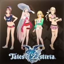 Tales of Zestiria - <b>набор</b> женских костюмов для <b>отдыха</b> у моря на ...