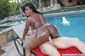 AssParade Pic Galleries Layton Benton is undressing in hot poses and getting her black pussy fucked by white dick