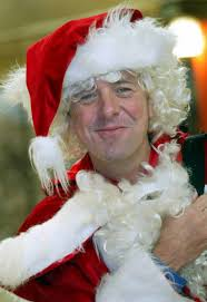 sed as Father Christmas at Picc. Festive Tuffers: Phil Tufnell in Father Christmas mode. I had rather hoped that as a javelin thrower Backley would have ... - article-0-01EBE0390000044D-802_468x683